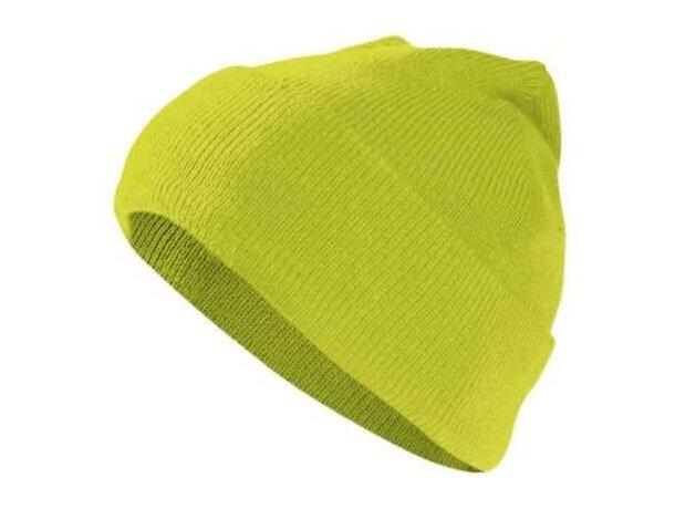 Gorro polar acrílico en colores de alta visibilidad Valento personalizado  amarillo alta visibilidad aae8e752e0c