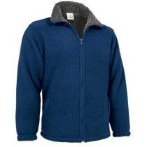 Chaqueta polar interior de color Valento personalizada azul