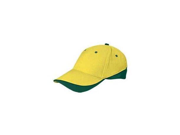 Gorra llamativa de colores combinados Valento personalizada