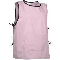 Peto ajustable con cintas y bolsillo grande Valento rosa personalizada