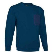 Sudadera de felpa con bolsillo Valento azul