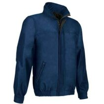 Cazadora tejido técnico Valento personalizada azul
