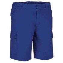 Pantalón corto de corte clásico para hombre Valento azul royal