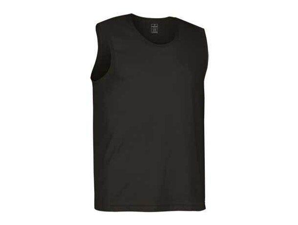 Camiseta Sin mangas Adulto   Valento grabada negra