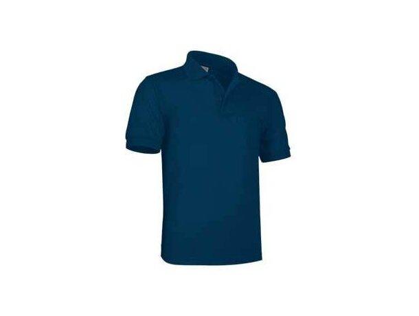Polo manga corta con bolsillo neptuno de Valento 180 gr Valento barato azul