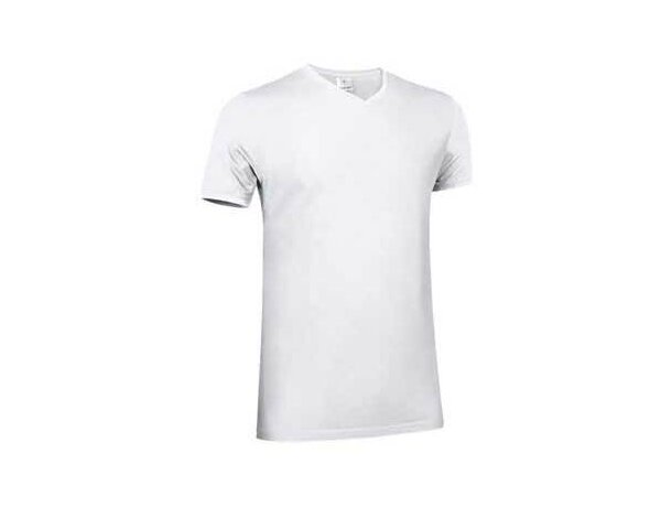 Camiseta Cuella Pico Valento blanca