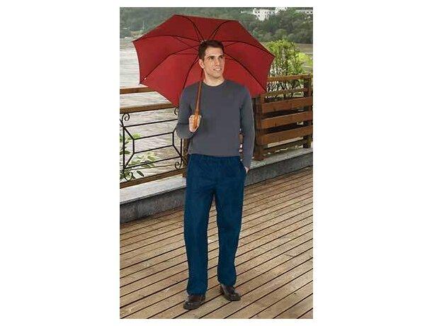 Cubre pantalón hidrófugo para hombre Valento personalizado