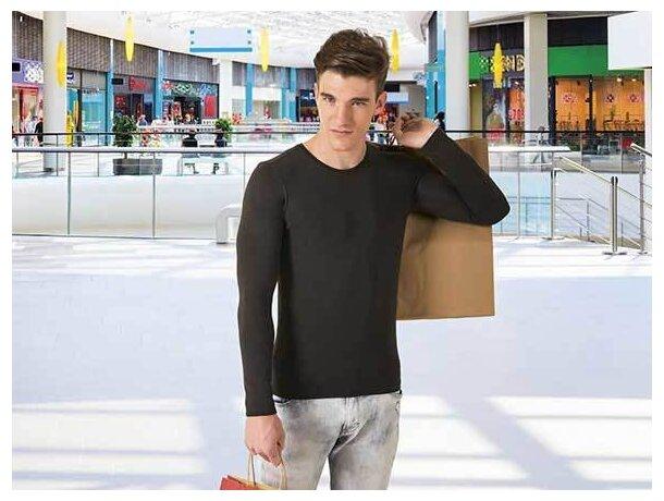 Camiseta manga larga unisex ajustada 190 gr Valento