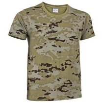 Camiseta camuflaje de algodón Valento camuflaje