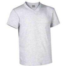 Camiseta manga corta cuello de pico Valento Valento gris