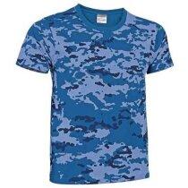Camiseta camuflaje de algodón Valento