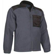 Jersey polar con bolsillo Valento gris