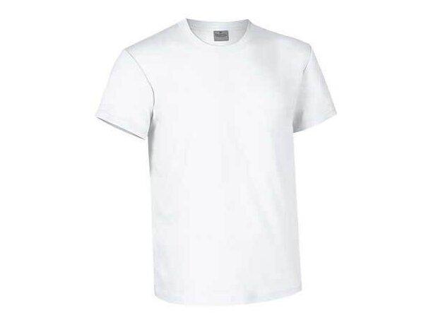 Camiseta Cuello Redondo Matrix Valento blanca personalizado