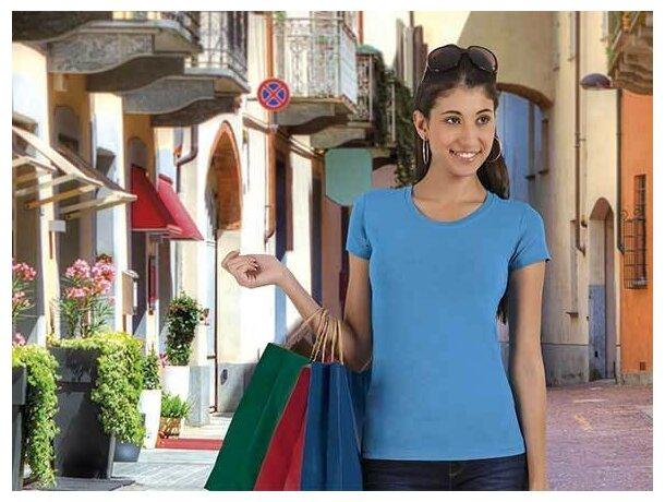 Camiseta ajustada de mujer 190 gr de Valento Valento grabada