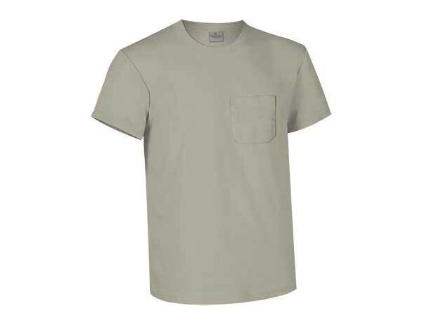 Camiseta con bolsillo manga corta Valento Valento grabada