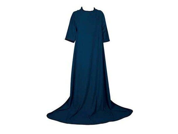 Manta polar con mangas batamanta Valento personalizada azul