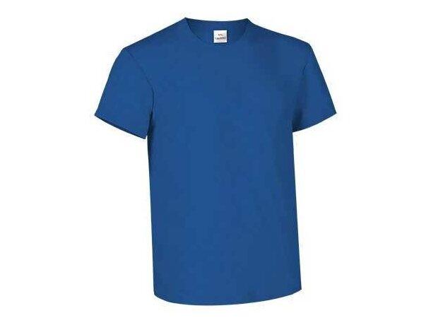 Camiseta manga corta de 160 gr 100% algodón Valento azul royal economica