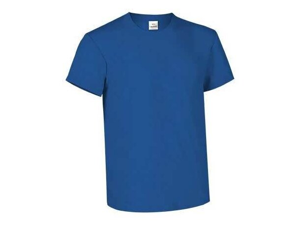 Camiseta manga corta de 160 gr 100% algodón Valento azul royal