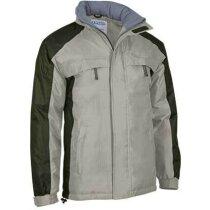 Chaquetón impermeable de abrigo con capucha Valento beige personalizada