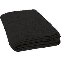 Toalla de rizo de duche Valento personalizada negra