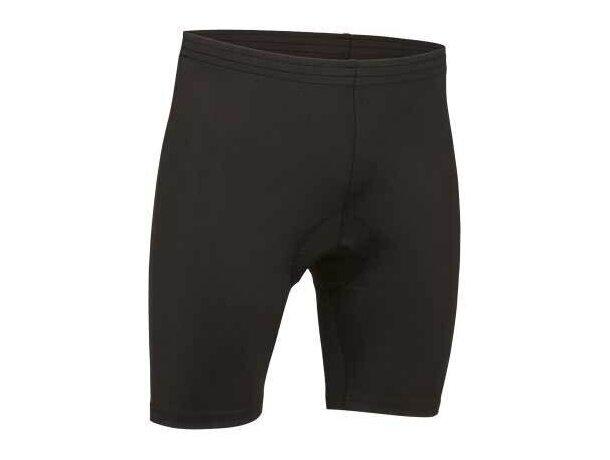 Culote de ciclismo unisex  corto Valento negro