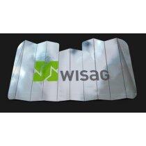 Parasol de cartón de gran calidad para coche personalizado