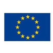 Bandera europea de poliéster
