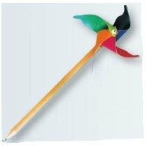 Molinillo de viento para lápices personalizado
