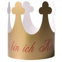 Corona de cartón mini personalizado