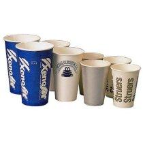Vaso de papel de fabricación especial a todo color personalizados