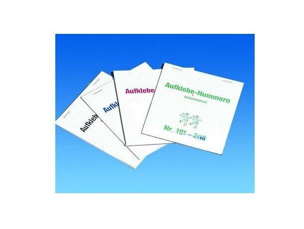 Pegatinas numeradas para premios personalizada