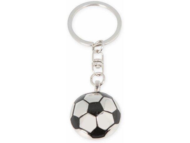 Llavero balón de fútbol metálico barato