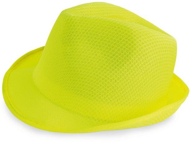 Sombrero con ala irregular personalizado