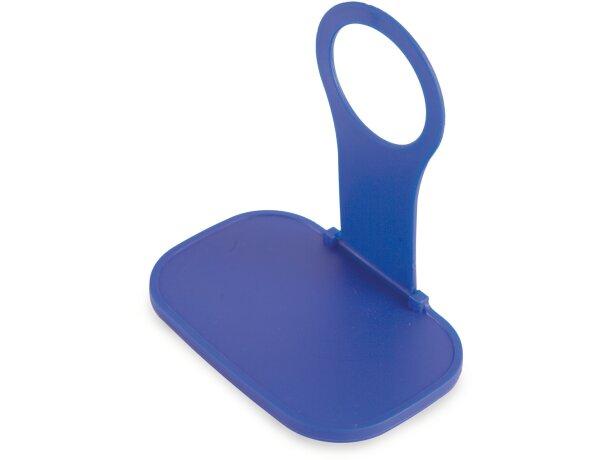 Soporte para cargador de móvil personalizado azul
