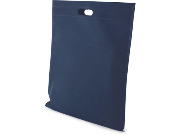 Bolsa de non woven 40 x 45 cm original azul marino