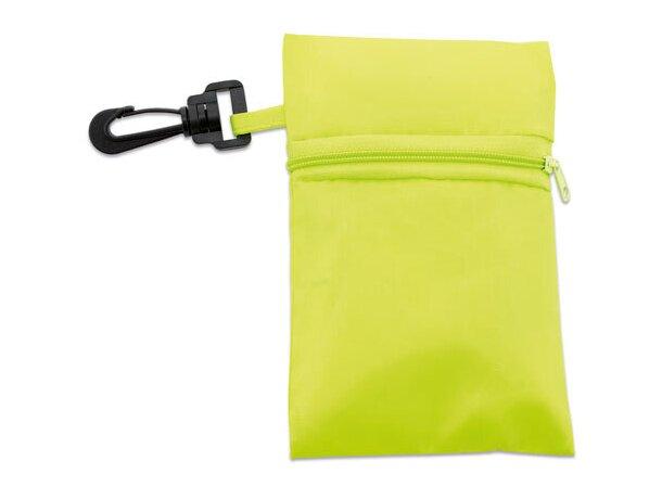 Bolsa plegable con cremallera y funda personalizado pistacho