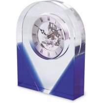 Reloj de sobremesa en cristal personalizado