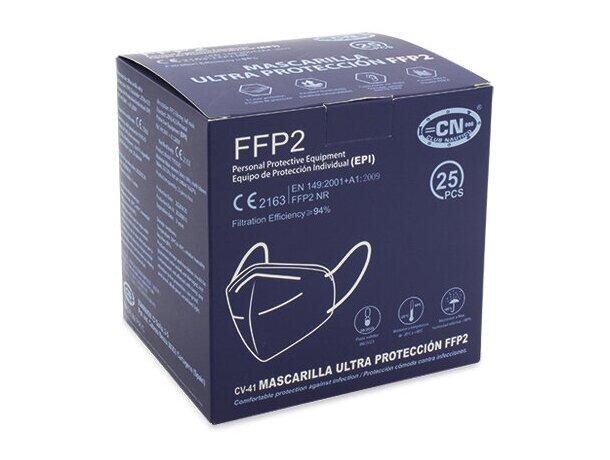Mascarilla ultra proteccion de colroes ffp2 españa/negro