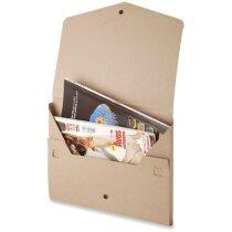 Carpeta tipo sobre en cartón reciclado