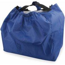 Bolsa de la compra para carros de supermercado azul marino