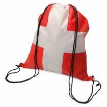 Bolsa mochila con cuerdas con bandera de Cartagena personalizado