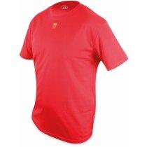 Camiseta técnica detalle España unisex roja
