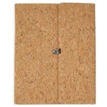 Carpeta con Bloc fabricada en corcho