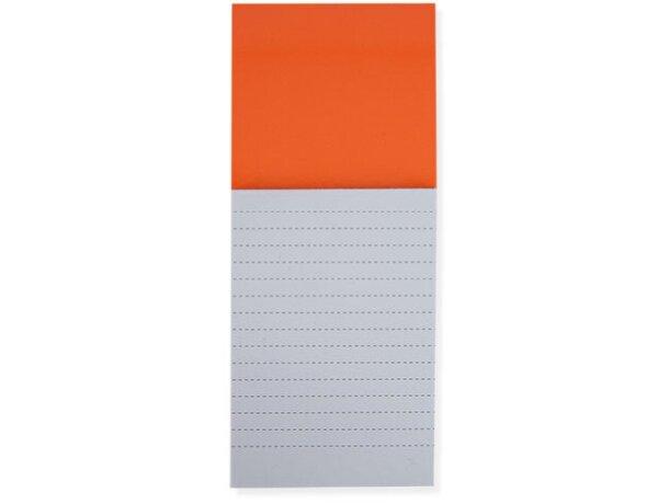 Imán de nevera con bloc de notas personalizada