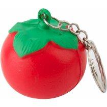 Llavero tomate antiestrés personalizado