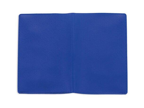 Tarjetero doble con dos bolsillos azul
