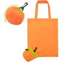 Bolsa plegable con forma de naranja