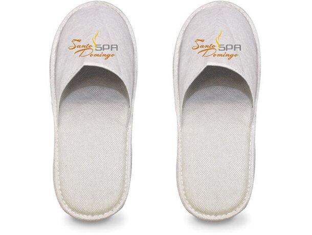 Zapatillas de hotel de non woben personalizada