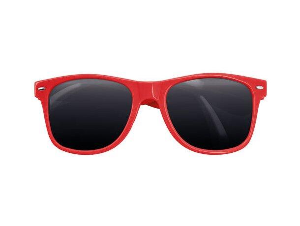 Gafas de sol pvc 400 uv rojo