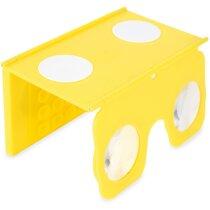 Visor 3D de realidad personalizado virtual plegable barato amarillo